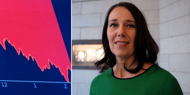 Annika Winsth, chefsekonom på Nordea.  TT