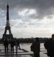 Paris.  Michel Euler / TT NYHETSBYRÅN