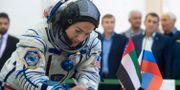Jessica Meir.  Research and Test Cosmonaut Trai / TT NYHETSBYRÅN