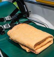 Insidan av en ambulans.  Tomas Oneborg/SvD/TT / TT NYHETSBYRÅN