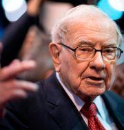 Arkivbild: Berkshire Hathaway-grundaren Warren Buffett JOHANNES EISELE / TT NYHETSBYRÅN