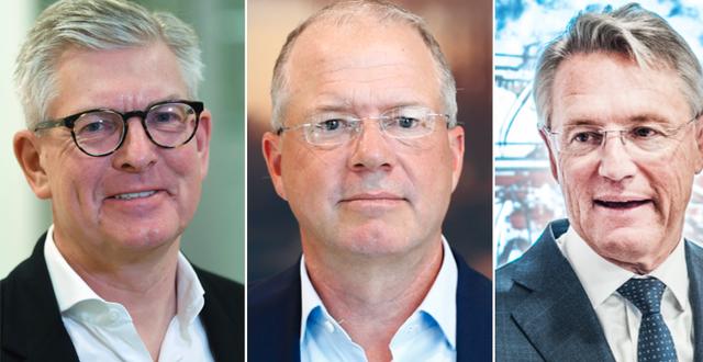 Börje Ekholm, Ericsson, Martin Lundstedt, Volvo, Björn Rosengren, ABB TT