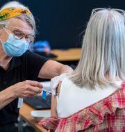 Vaccinering.  Johan Nilsson/TT / TT NYHETSBYRÅN