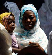 Kvinnor i Etiopien.  Rebecca Blackwell / TT NYHETSBYRÅN