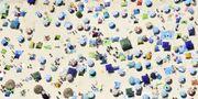 Strandparasoller i Japan, arkivbild. ¼ ò Kåb / TT NYHETSBYRÅN/ NTB Scanpix