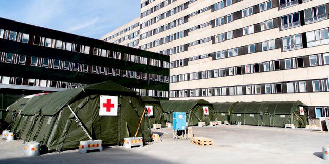 Sahlgrenska sjukhuset i Göteborg. Adam Ihse/TT / TT NYHETSBYRÅN