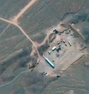 Kärnanläggningen i Natanz TT NYHETSBYRÅN