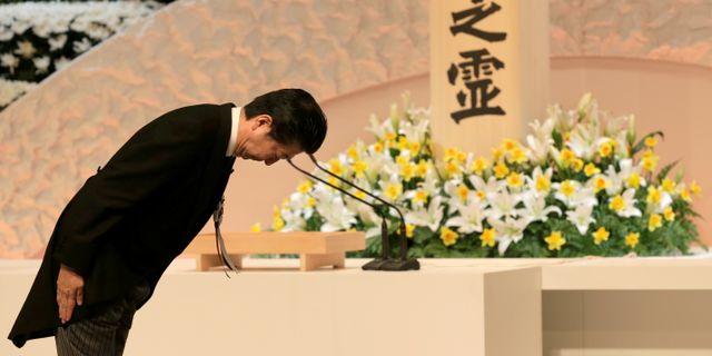 Shinzo Abe.  POOL / TT NYHETSBYRÅN