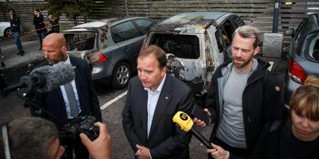 Statsminister Stefan Löfven i Göteborg.  Henrik Brunnsgård/TT / TT NYHETSBYRÅN