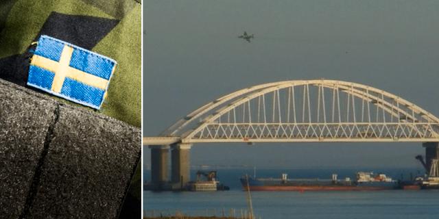 Arkivbilder. Bron över Kertjsundet (t h). TT