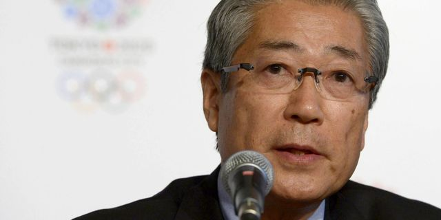 Tsunekazu Takeda JUAN MABROMATA / AFP