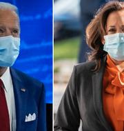 Joe Biden och Kamala Harris. TT