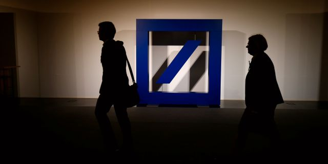 Deutsche Bank. Arkivbild. RALPH ORLOWSKI / TT NYHETSBYRÅN
