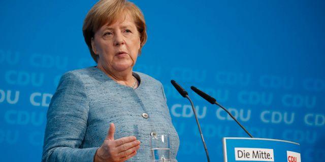 Angela Merkel. ODD ANDERSEN / AFP