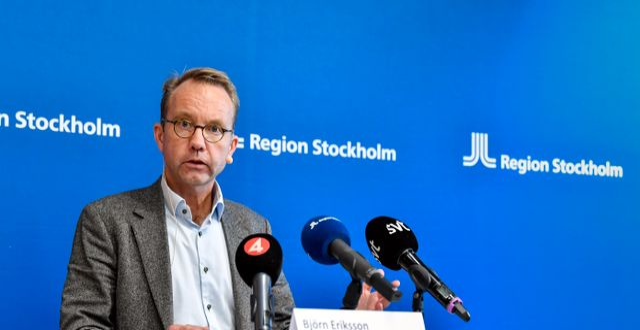 Björn Eriksson. Jessica Gow/TT / TT NYHETSBYRÅN