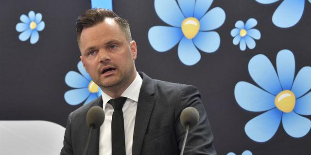 Adam Marttinen. Jonas Ekströmer/TT / TT NYHETSBYRÅN