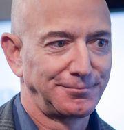 Jeff Bezos, Tim Cook, Sundar Pichai och Mark Zuckerberg. TT NYHETSBYRÅN