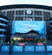 Etihad Stadium, Manchester Citys hemmaarena. Jon Super / TT NYHETSBYRÅN