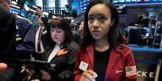 Traders på Wall Street. Richard Drew / TT NYHETSBYRÅN