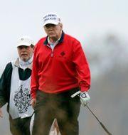Arkivbild: Donald Trump på golfbanan efter valet Manuel Balce Ceneta / TT NYHETSBYRÅN