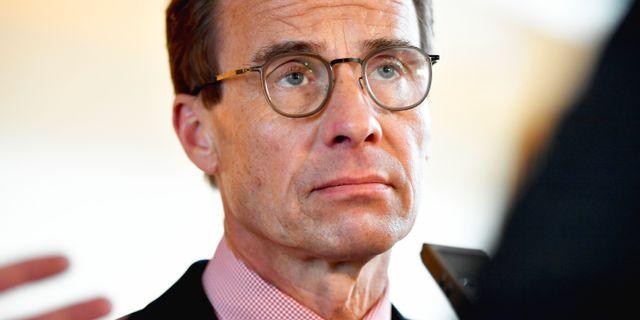 Ulf Kristersson (M). Naina Helèn Jåma/TT / TT NYHETSBYRÅN