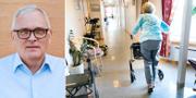 Anders Knape / Kvinna på äldreboende TT