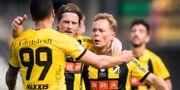 Häcken firar segern MICHAEL ERICHSEN / BILDBYRÅN