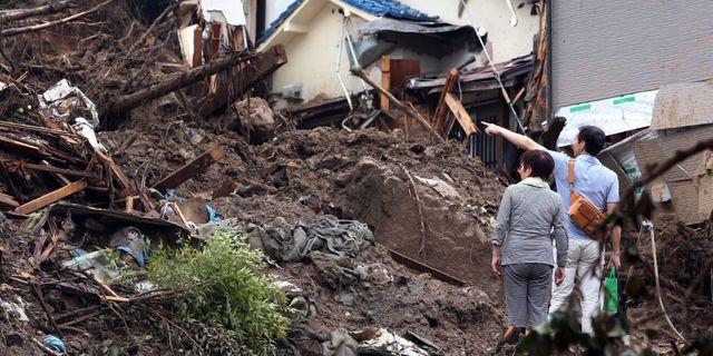 Minst 140 doda i tyfon i filippinerna