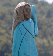 Skulpturen/Melania Trump (Arkivbilder) TT