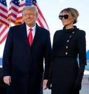 Donald Trump och Melania Trump.  Manuel Balce Ceneta / TT NYHETSBYRÅN