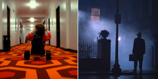 The Shining/Exorcisten. PRESS