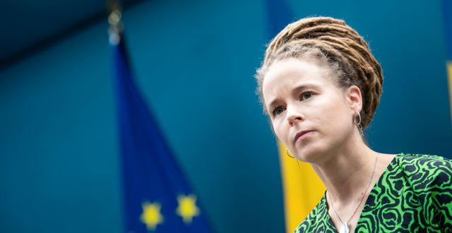 Amanda Lind. Amir Nabizadeh/TT / TT NYHETSBYRÅN