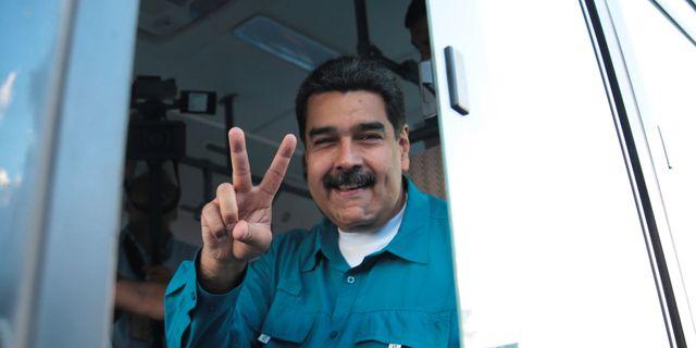 Maduro. Arkiv.  HANDOUT / TT NYHETSBYRÅN