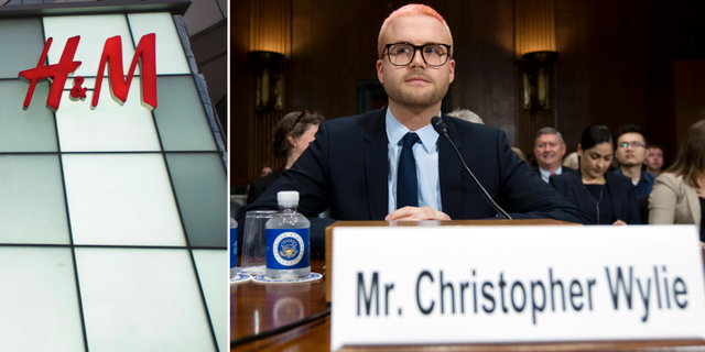 Christopher Wylie.  TT