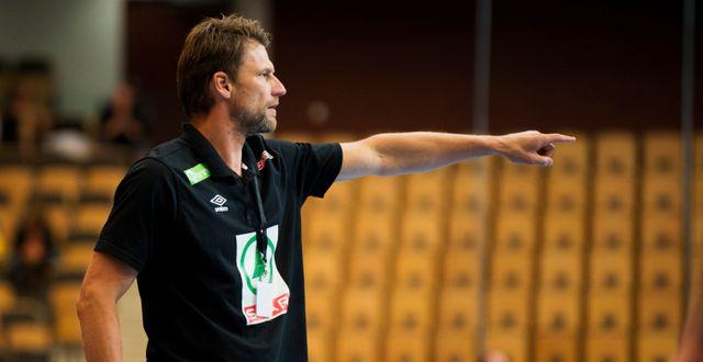 USA:s förbundskapten Robert Hedin. NILS JAKOBSSON / BILDBYRÅN