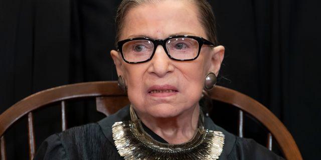 Ruth Bader Ginsburg. J. Scott Applewhite / TT NYHETSBYRÅN/ NTB Scanpix