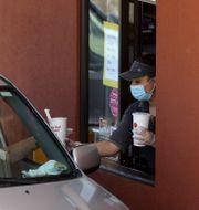Ett McDonalds i Kalifornien.  JUSTIN SULLIVAN / TT NYHETSBYRÅN
