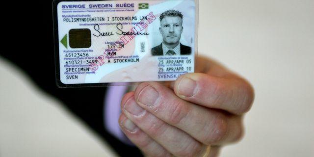 ID-kort. Arkivbild. JESSICA GOW