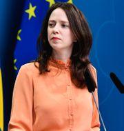 Finansmarknadsminister Åsa Lindhagen (MP).  Jessica Gow/TT / TT NYHETSBYRÅN