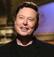 """Musk som programledare i populära """"Saturday night live"""" i maj i år. Will Heath / TT NYHETSBYRÅN"""