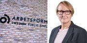 Annika Sundén, analyschef Arbetsförmedlingen.  TT/ Arbetsförmedlingen