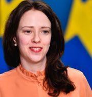Åsa Lindhagen. Jessica Gow/TT / TT NYHETSBYRÅN