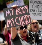 Arkivbild från aborträttsprotest.  Eric Gay / TT NYHETSBYRÅN