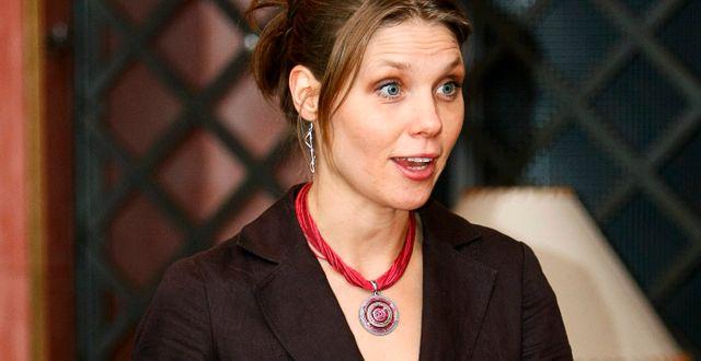 Maria Bratt Börjesson, professor i nationalekonomi vid Statens väg- och transportforskningsinstitut. STEFAN JERREVÅNG / TT / TT NYHETSBYRÅN