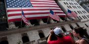 Arkivbild: New York Stock Exchange på Wall Street. John Minchillo / TT NYHETSBYRÅN