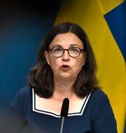 Anna Ekström (S) Claudio Bresciani/TT / TT NYHETSBYRÅN