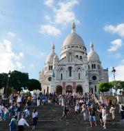 Basilikan Sacré-Coeur i Montmartre, Paris. 2017. Johansen, Erik / TT NYHETSBYRÅN