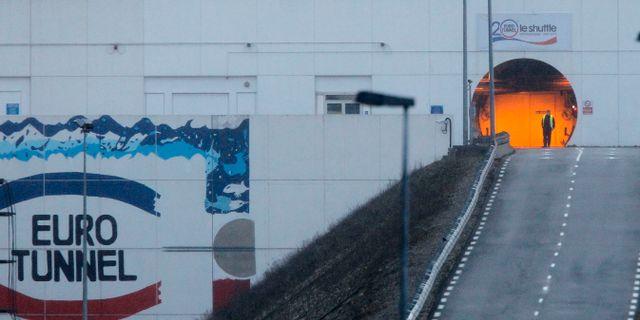 Kanaltunneln mellan Frankrike och Storbritannien. Michel Spingler / TT / NTB Scanpix