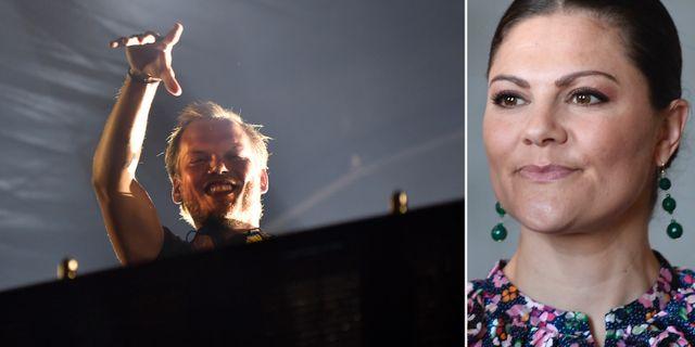 "Tim ""Avicii"" Bergling/Kronprinsessan Victoria. TT"