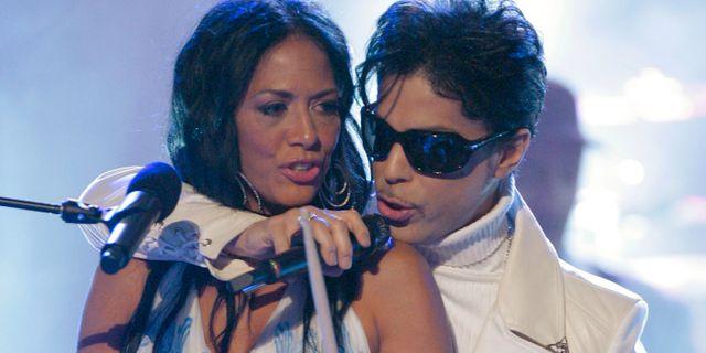 Shelia E. under en konsert med Prince 2007. Mark J. Terrill / TT / NTB Scanpix